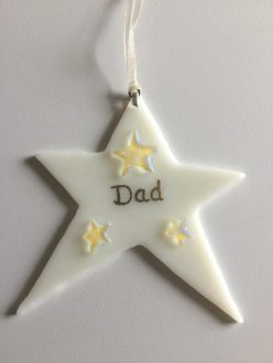 Dad star hanger